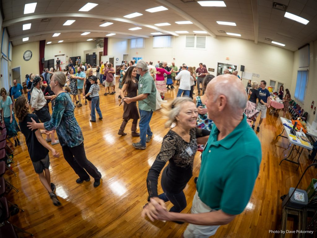 G.O.D.S. contra dance at the Thelma A Boltin Center in Gainesville