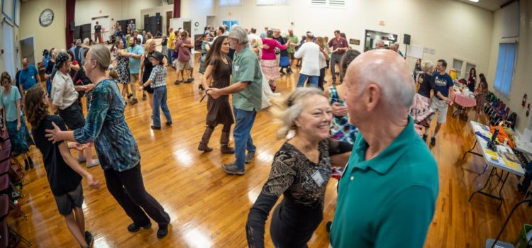 GODS fortnightly contra dance at the Thelma Boltin Center, Gainesville