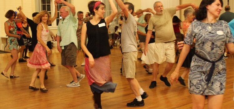 Contra dancing in Gainesville, Florida
