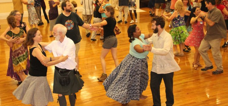 GODS contra dance at the Thelma Boltin Center, Gainesville, FL